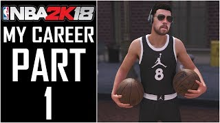 """NBA 2K18 - My Career - Let's Play - Part 1 - """"MyPlayer Creation (Face Scan), Intro, Stats Selection"""""""