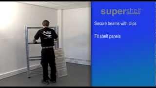 How To Build Supershelf™ Simply Super Shelving