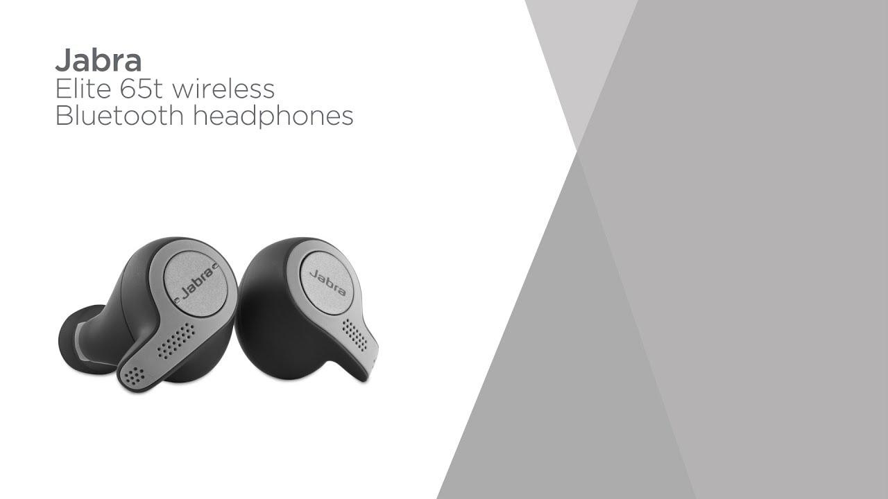 Jabra Elite 65t Wireless Bluetooth Headphones Titanium Black Product Overview Currys Pc World Youtube