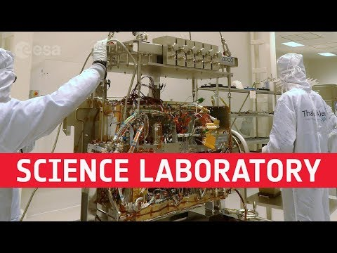 ExoMars rover science laboratory fitted