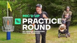 Big Jerm & Paul Ulibarri try to stay friends after their GMC Mic'd Up Practice Round | Disc Golf