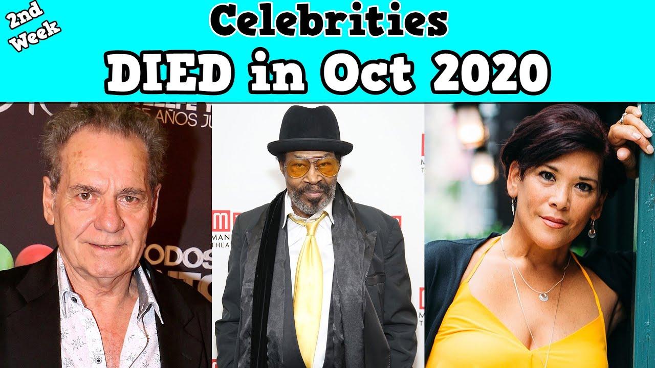 Celebrities Who DIED in 2nd Week of October 2020