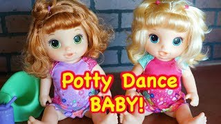 BABY ALIVE Potty Dance Baby Doll Review!