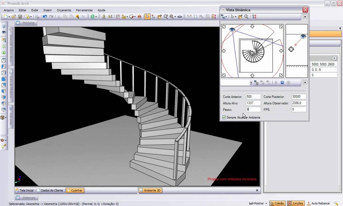 escada caracol.wmv - YouTube
