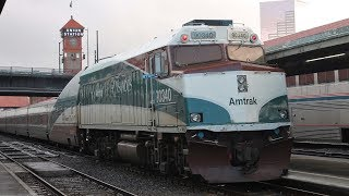 ROBLOX Amtrak Coordinator Train at the Diamond Crossing