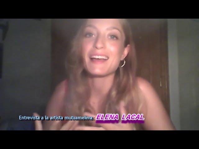 Entrevistamos a la artista mutxamelera ELENA LACAL, cantante. compositora, actriz y bailarina...
