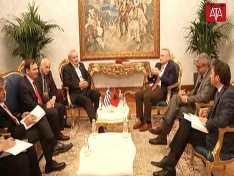 Kryetari i Kuvendit Z.Ilir Meta priti Ministrin e Jashtëm Plotësues të Greqisë Z.Nikolaos Chountis