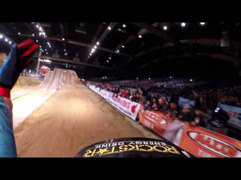 Libor Podmol Final Run and crash Tours 2015 FMX World Championship