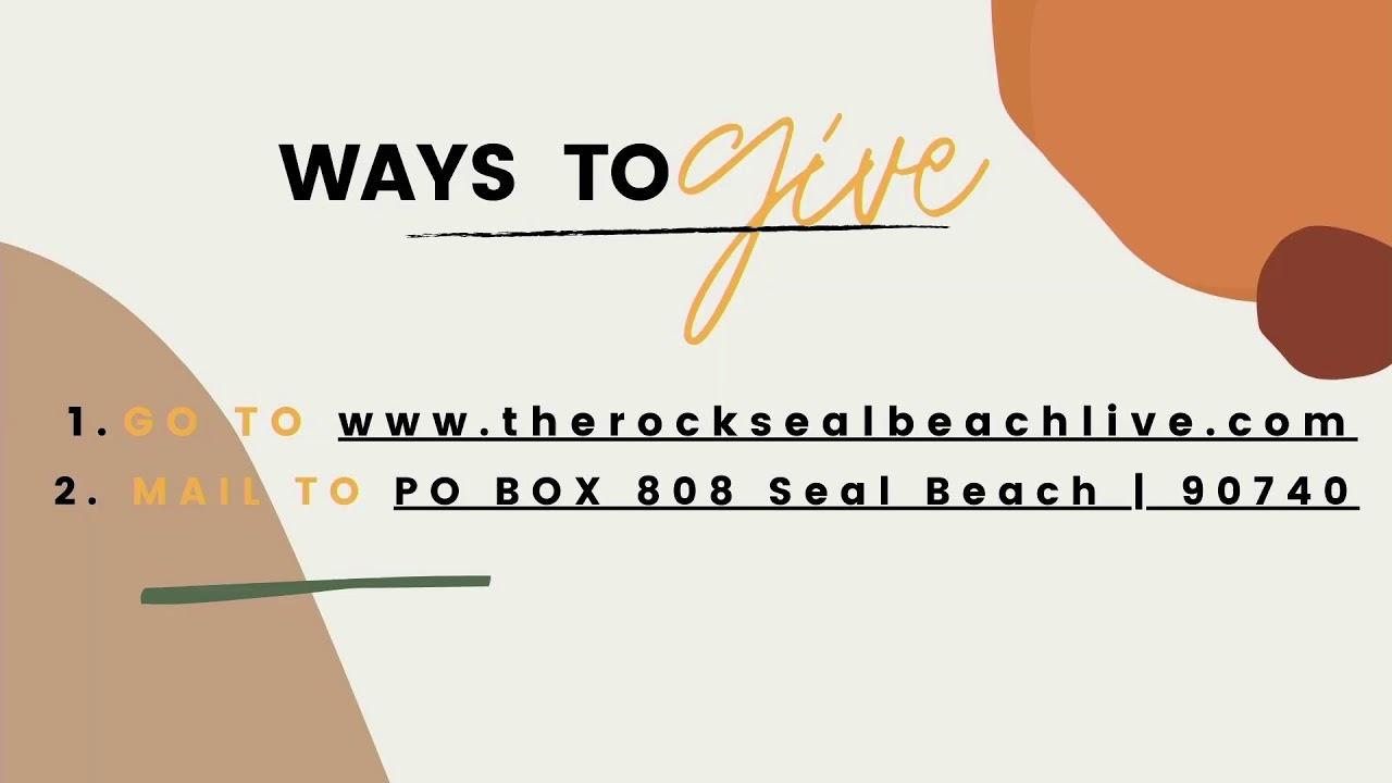 The Rock Seal Beach Live Service 06-20-21