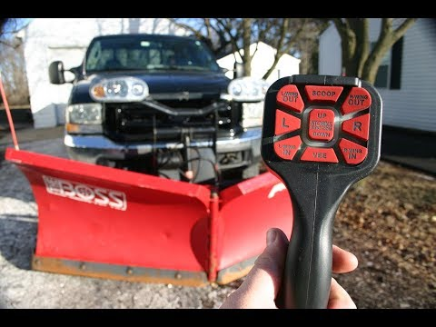 Snow Plowing Equipment | V Plow Control Upgrade