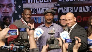 Deontay Wilder Vs. Artur Szpilka Full Video- COMPLETE Final Press Confernece & Face Off