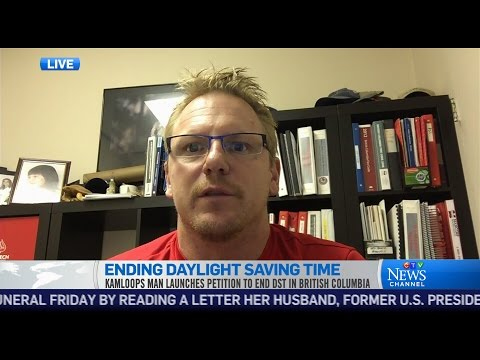 The campaign to end daylight saving time