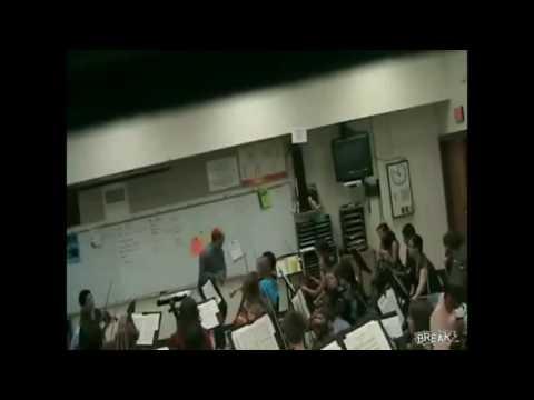 BADASS TEACHER DESTROYS VIOLIN MEME