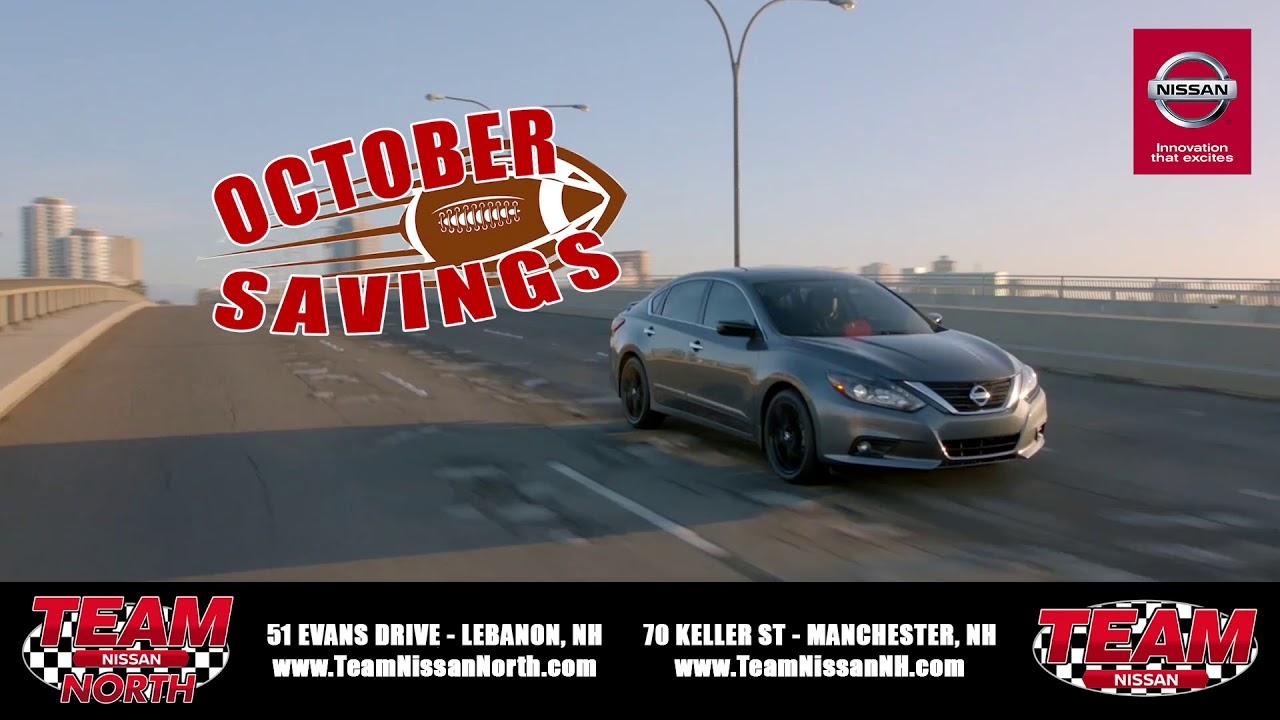 October Savings At Team Nissan