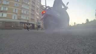 Burnout Honda Lead af48