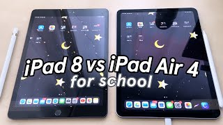 IPad 8th Gen Vs. IPad Air 4 For School 🍎 What's Different?