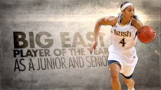 2013 WNBA Draft : Skylar Diggins : University of Notre Dame