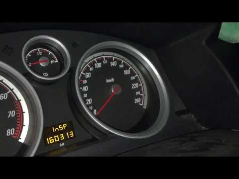Resetting the Service Indicator on a 2007 Opel Astra H yourself for free