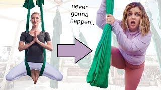 I Tried Every Style of Yoga in a Week (very unflexible)
