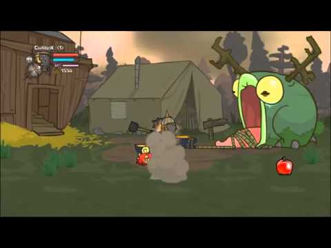 Castle Crashers PC All Characters Magic HD [No Hatty Hattington]
