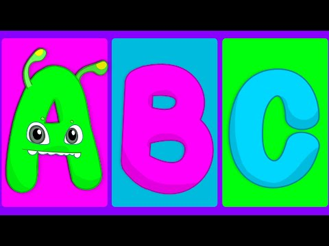ABC song for kids - Learn the Christmas alphabet with Groovy The Martian educational videos & songs