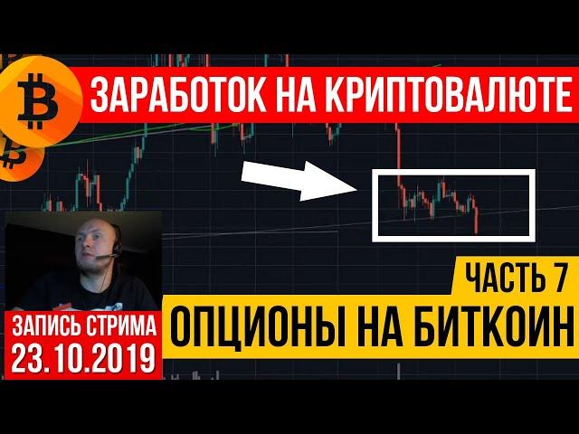 Криптовалюта: опционы на биткоин. Часть 7.