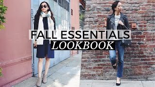 Fall Fashion Closet Essentials Lookbook, fall fashion, capsule wardrobe, fashion essentials