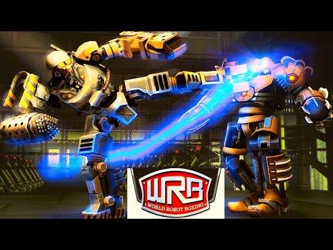 КИКБОКСИНГ РОБОТОВ Реальная сталь REAL STEEL WORLD ROBOT BOXING Новоя игра для детей БОЙ РОБОТОВ