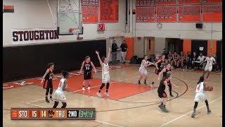 Stoughton High Girls Basketball vs Taunton (1-30-18)