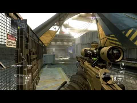 Black Ops 2 - Sniper Gameplay