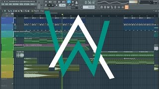 Alan Walker - Alone [Remake + Free FLP]