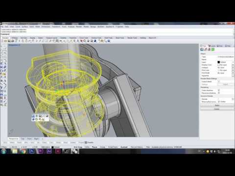 3d speed modelling drone quad copter video part 1