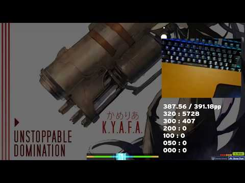 [osu!mania] K.Y.A.F.A. [UNSTOPPABLE DOMINATION] SS