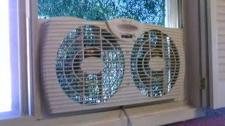 "Homemade Air Purifier! - The ""Window Fan"" Air Filtration System! - Easy DIY (w/box fan conversion!)"