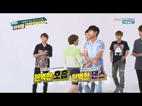 Infinite - 'Bad' weekly idol cut 2015