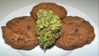 Cannabis Cookie Recipe - Chocolate Pistachio Cookies With Canna Butter