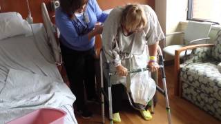 Carol's Double Knee Replacement Surgery