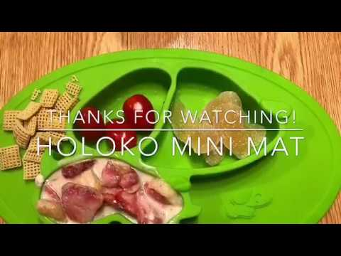 Toddler Feeding Silicone Placemat for Highchair | 100% Food Grade Silicone