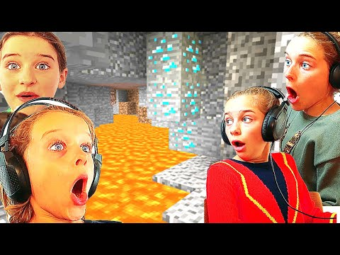 4 KIDS MINING FOR DIAMONDS IN SURVIVAL W/ The Norris Nuts