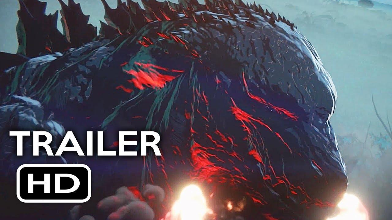 Godzilla: Monster Planet Official Trailer #1 (2017) Netflix Animated Movie HD