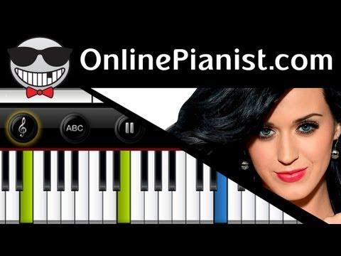Katy Perry - Roar (PRISM album) - Piano Tutorial (Easy Version)