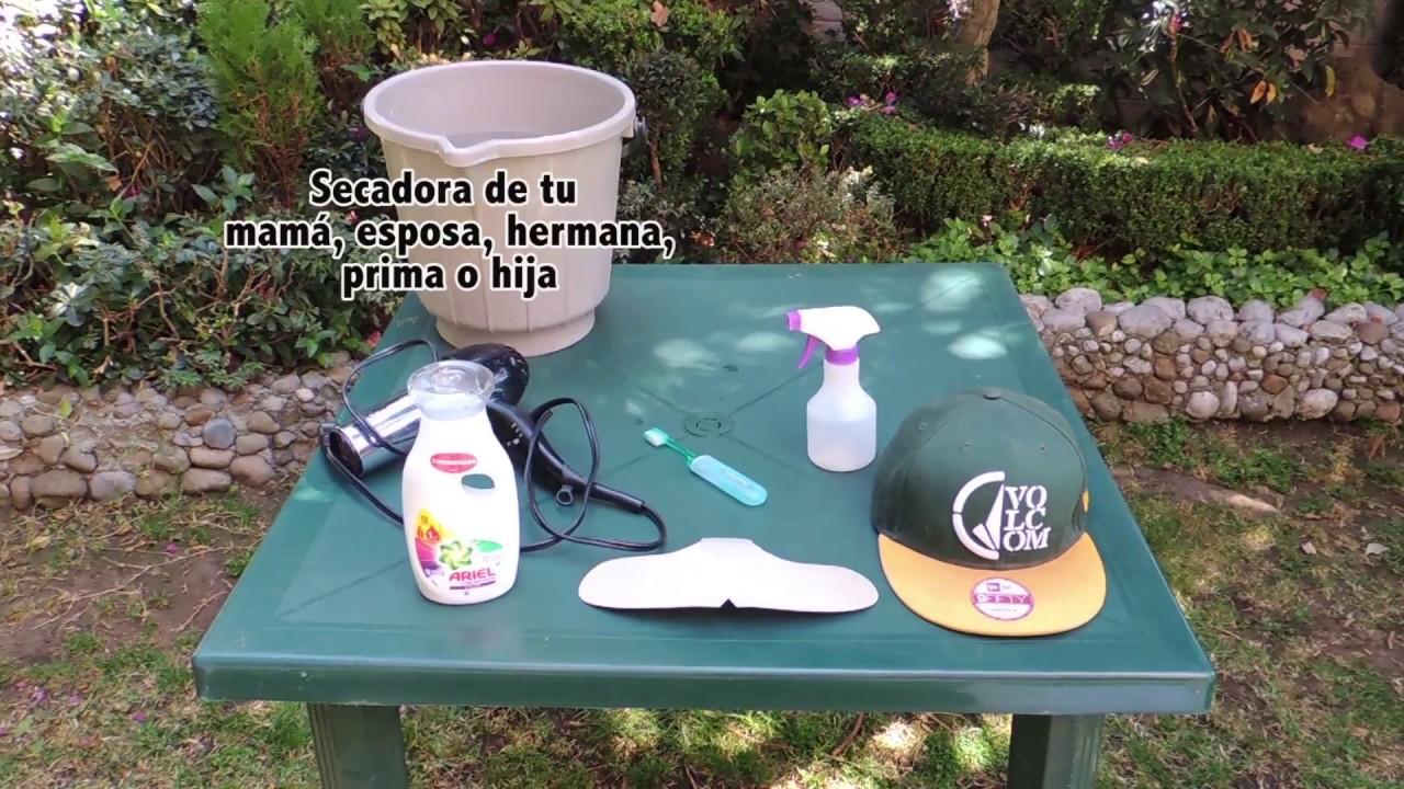 Tutorial - Como lavar tus gorras New Era - YouTube ea30c38800e