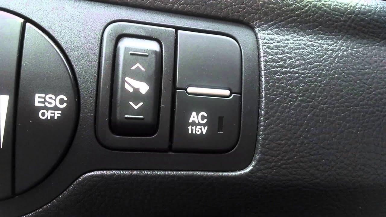 Hyundai Veracruz Adjustable Pedals Explanation Youtube