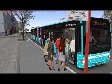 OMSI 2 - NEW CapaCity L Hamburg Bus Gameplay! 4K
