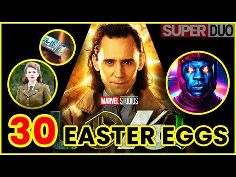 Loki EP1 all easter eggs, callbacks & references | SuperDUO