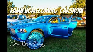 Famu homecoming 2k17 in HD must see (big rims, donks, g bodys,foreigns, and lifted trucks)
