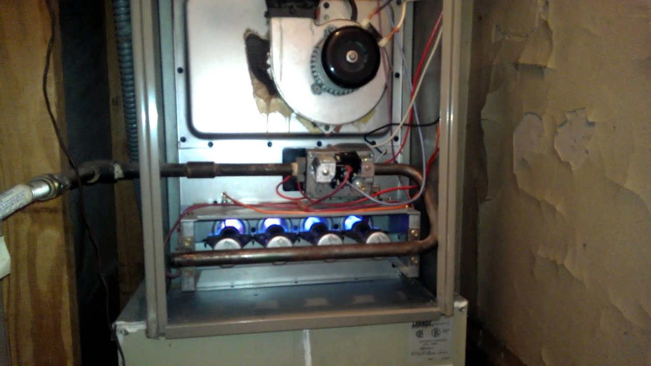Goodman Furnace Startup Youtube Arcoaire Wiring Diagram
