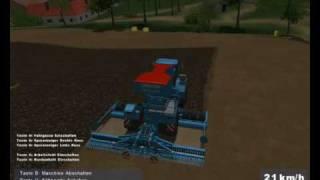 LAndwirstchafts simulator 2008- uprawa roli z lemken brillantem