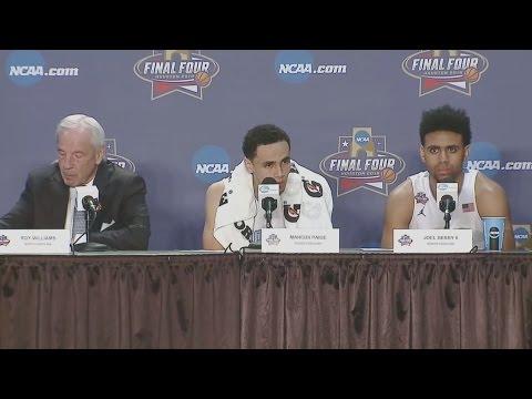 UNC Men's Basketball: National Championship Postgame PC - Villanova