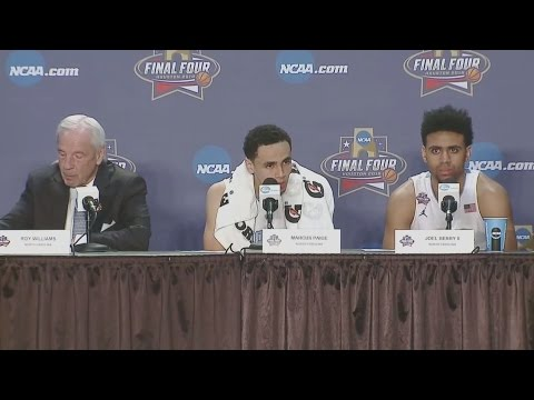 UNC Men's Basketball: National Championship Postgame PC - Villanova